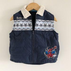 Spider-Man Full Zip Vest 18m Baby